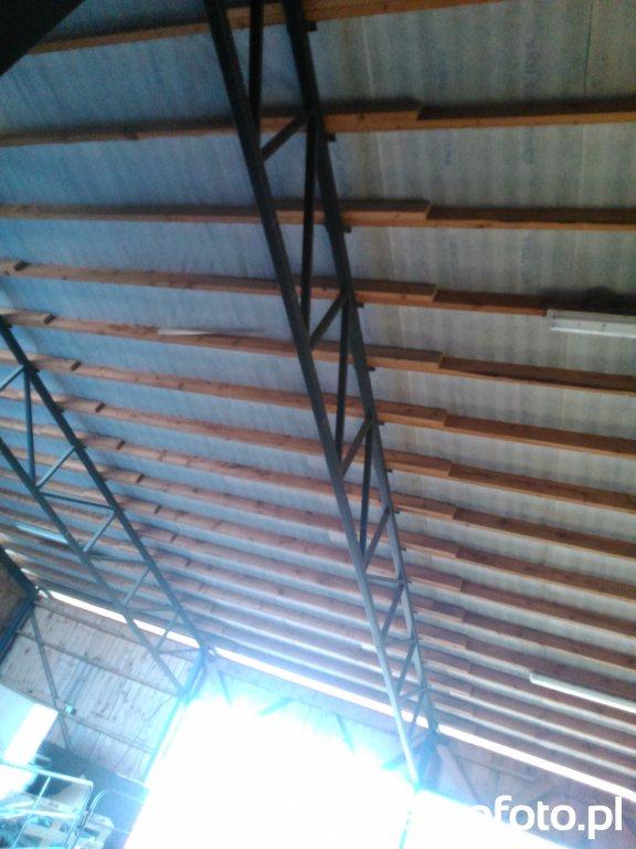 Konstrukcja dachu wiaty