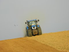 New Holland T7 220 AC & Lemken Zirkon