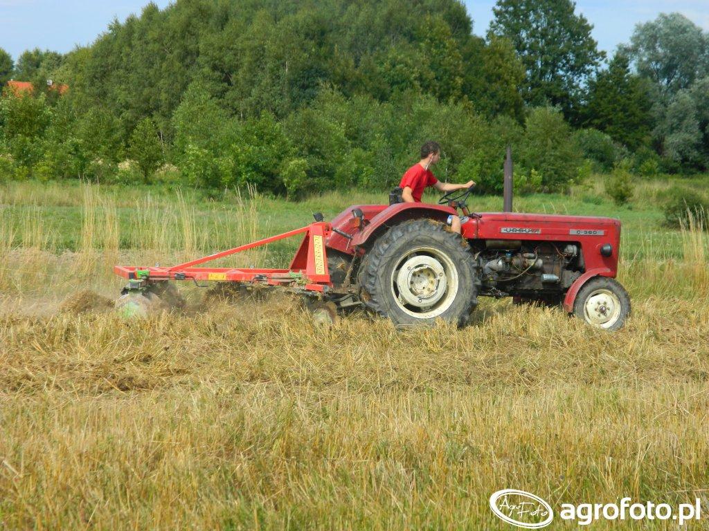 Ursus c360 & Grass-rol