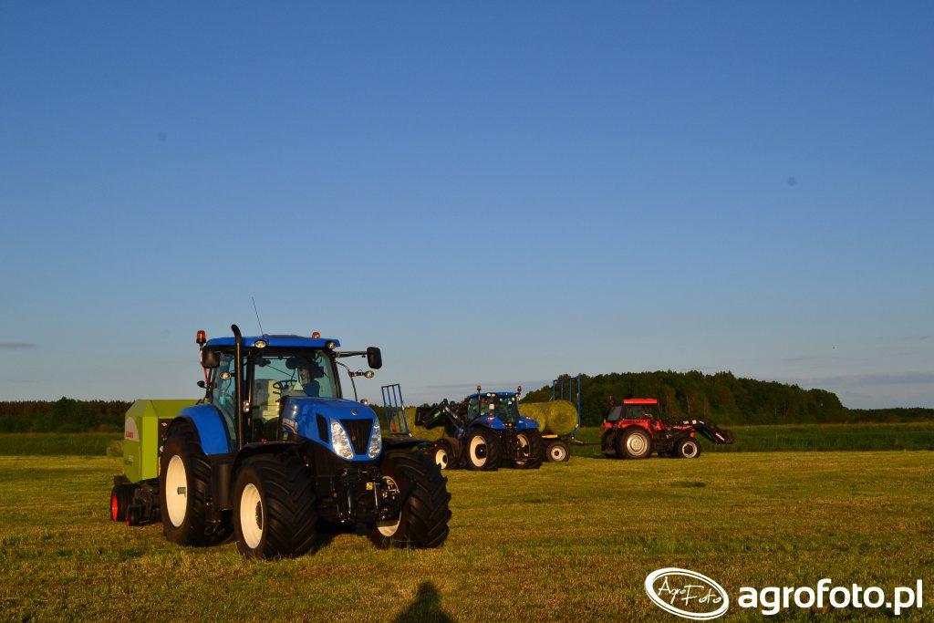 New Holland T7.22-/T5.105 & Ursus 1014
