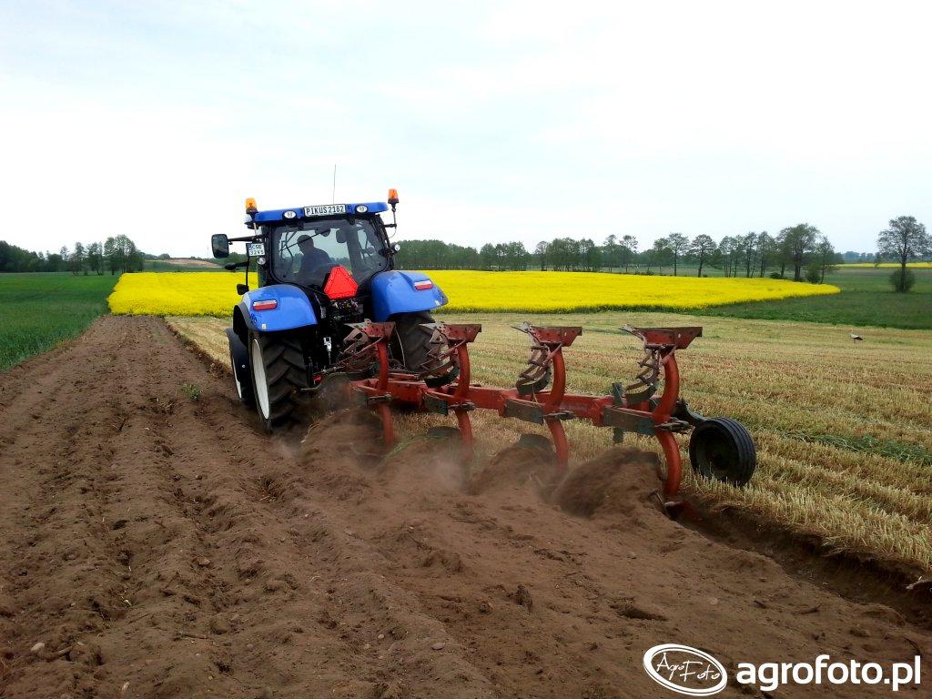 New Holland T6.175 & Kverneland