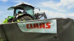 Claas Disco + Deutz Fahr Agrofarm 420