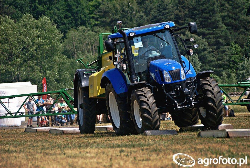 New Holland T6 + Unia europa premium 4024