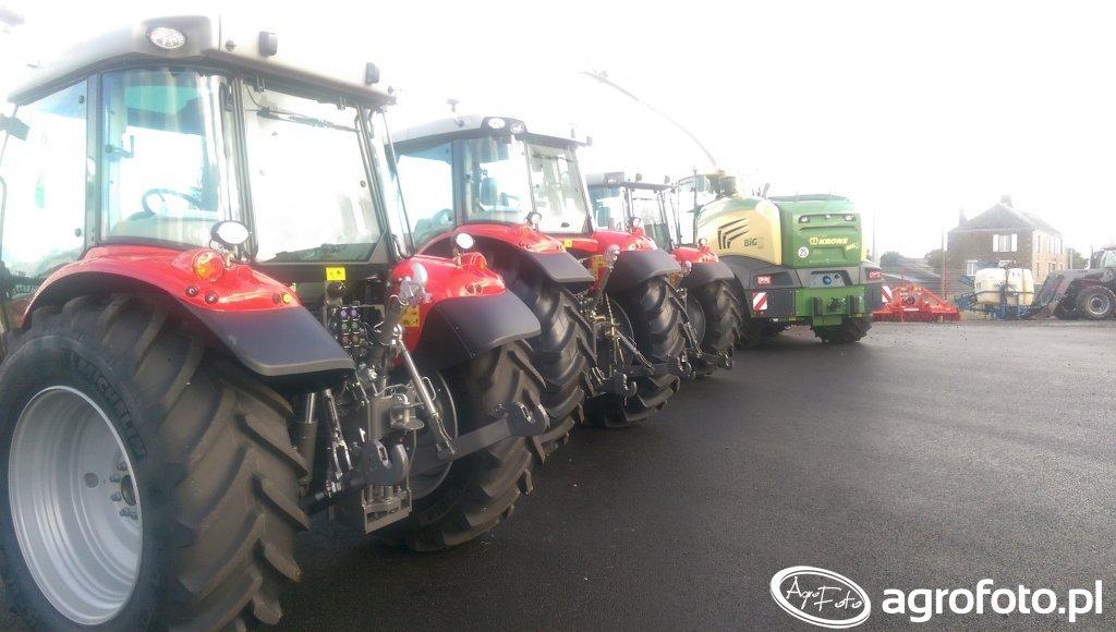 tyłki traktorów