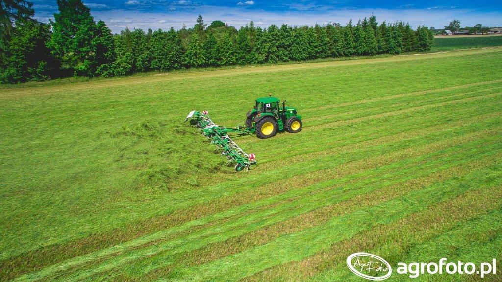 SaMASZ JohnDeere manwery łąkowe Zabłudów 2016