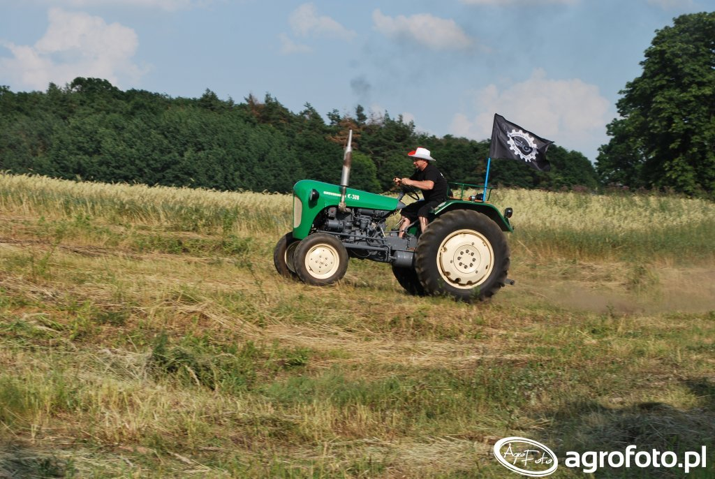 II Rajd Starych Traktorów - Wielka Lipa 2016