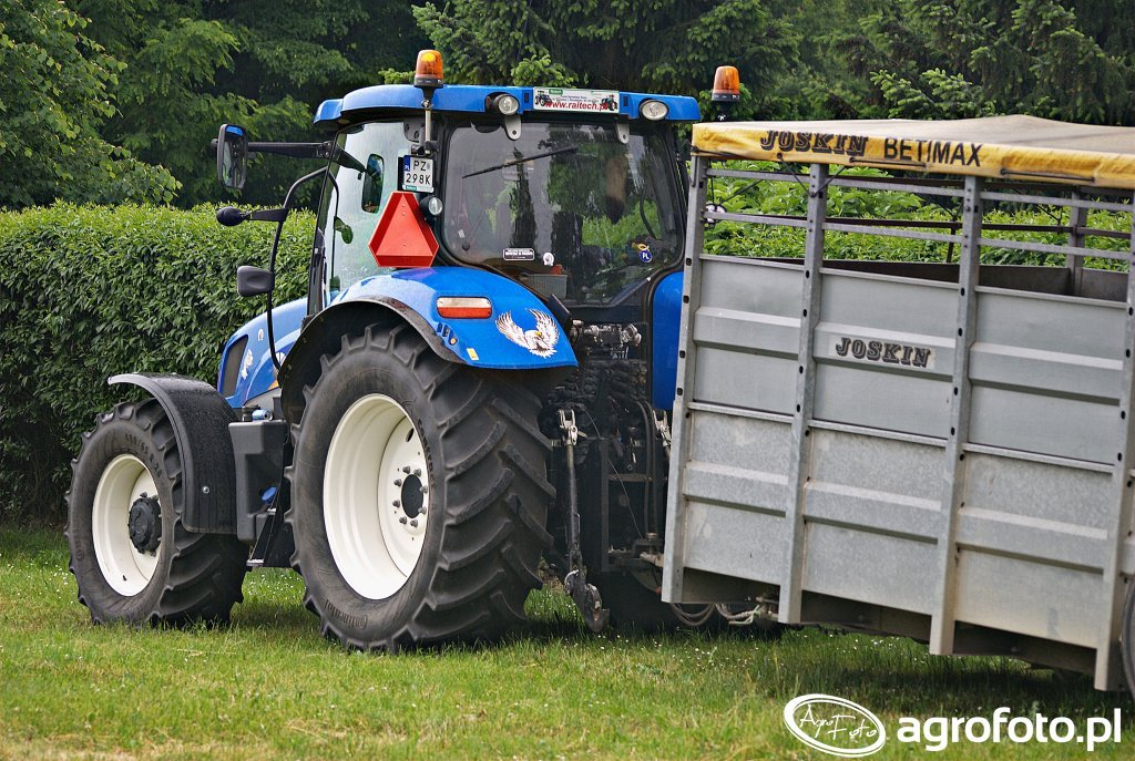 New Holland T6.175 + Joskin Betimax