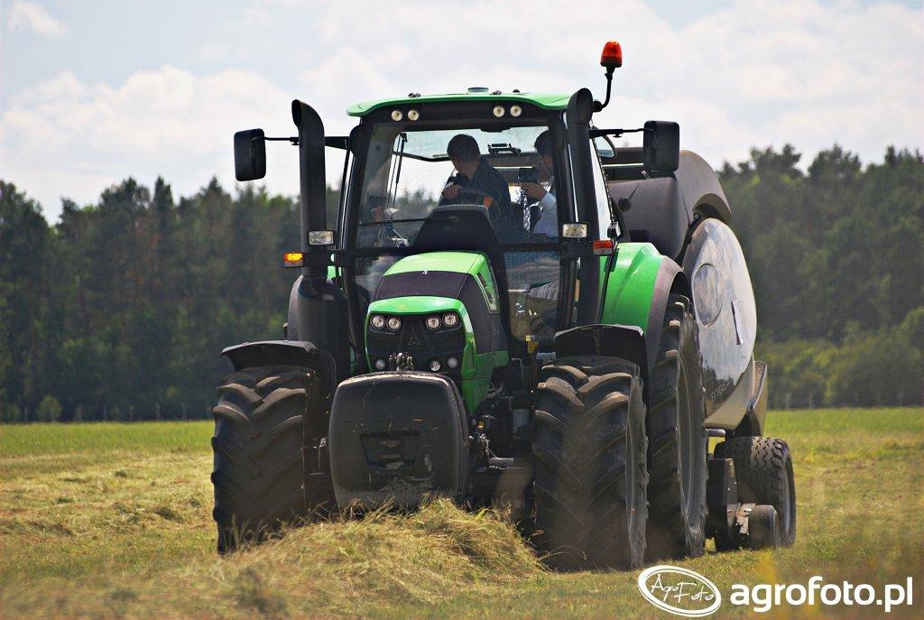 Deutz-Fahr 6160 Agrotron + Maschio Feraboli Extreme 365 HTC Black Edition