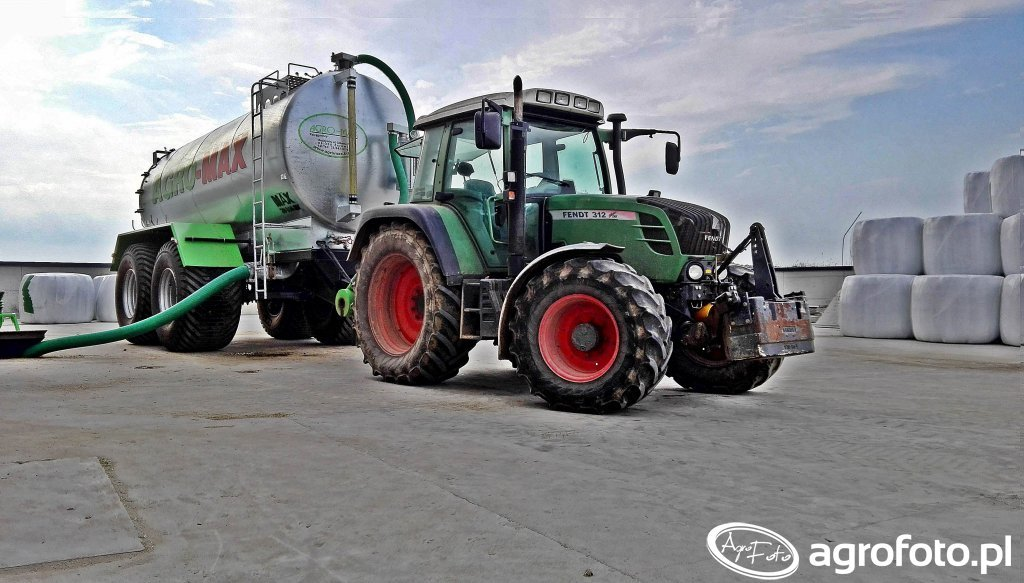 Fendt 312 & Agro-max