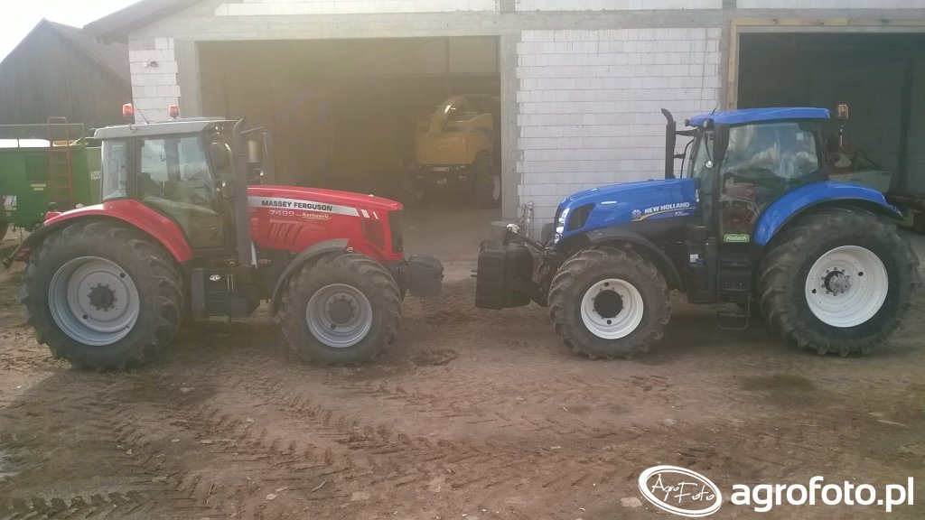 New Holland T7.220 vs. Massey Ferguson 7499
