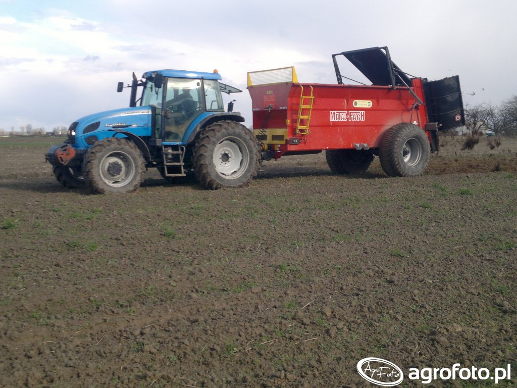 Landini legend 120 + Metal fach N-274