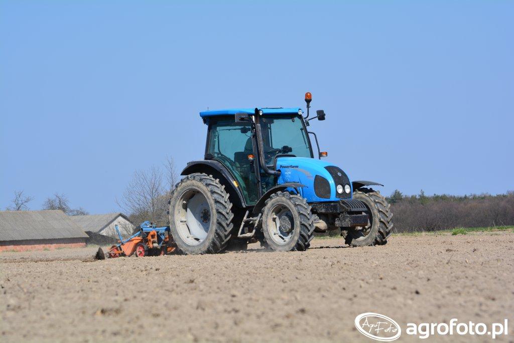 Landini Powerfarm 60 & Schmotzer