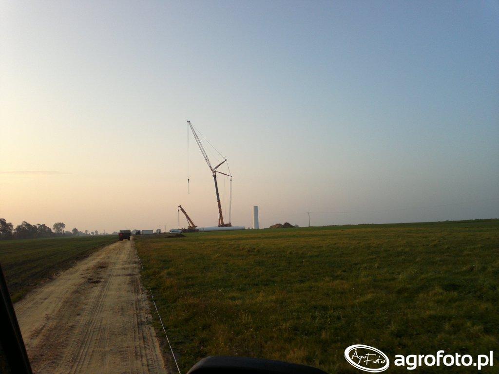 Budowa wiatraka