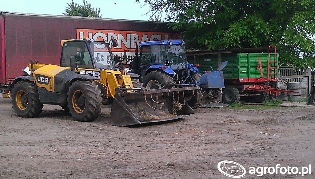 Maszyny na podwórku