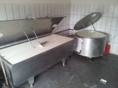 Zbiorniki na mleko