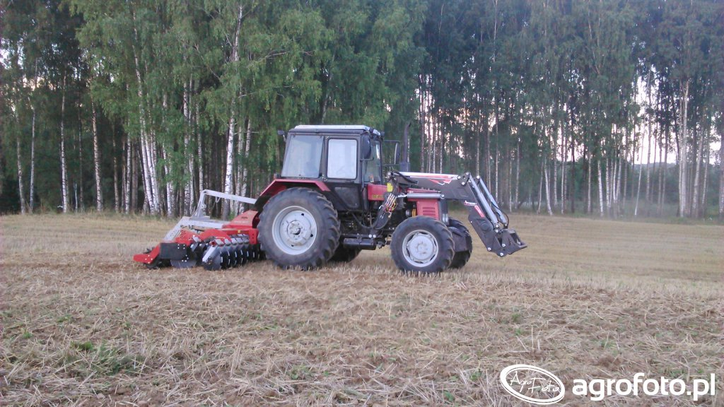 Belarus 952 +agregat talerzowy
