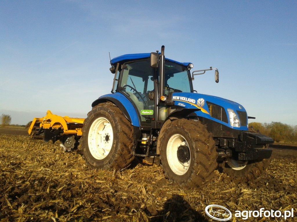 New Holland TD5.85 & Staltech U25