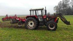 Zetor 9245 & Unia Cut 2,3 m