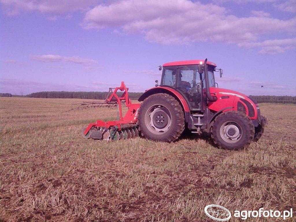 Zetor Forterra 115 + Agro-Masz 3m.