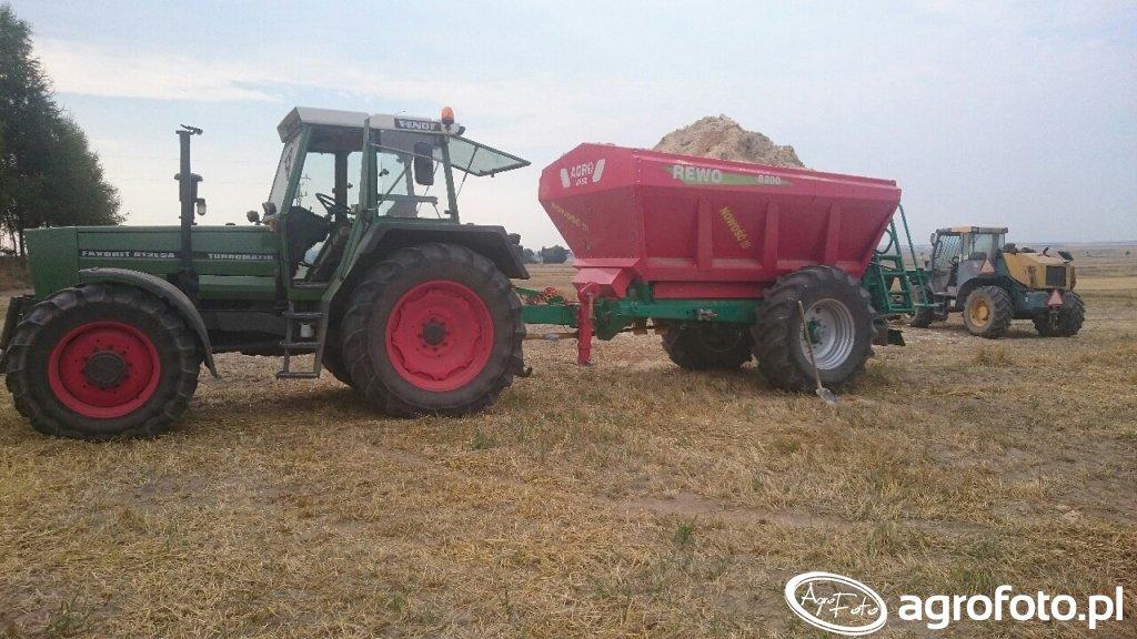 Fendt 612 + Agro-masz Rewo 8200