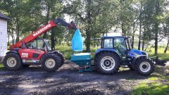 Sulky DX20  & New Holland T5060