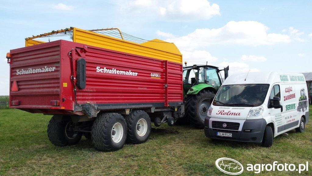 Schuitemaker Rapide 55 + Deutz Agrotron 630 TTV