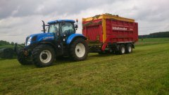 New Holland T7.210 + Schuitemaker Rapide 580 W
