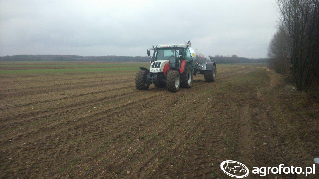 Fliegl & Steyr 9105MT