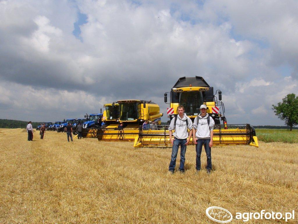 Pokazy pracy maszyn rolniczych w Dzwonowicach