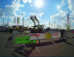 Claas , wystawa Agro Show Bednary 2015