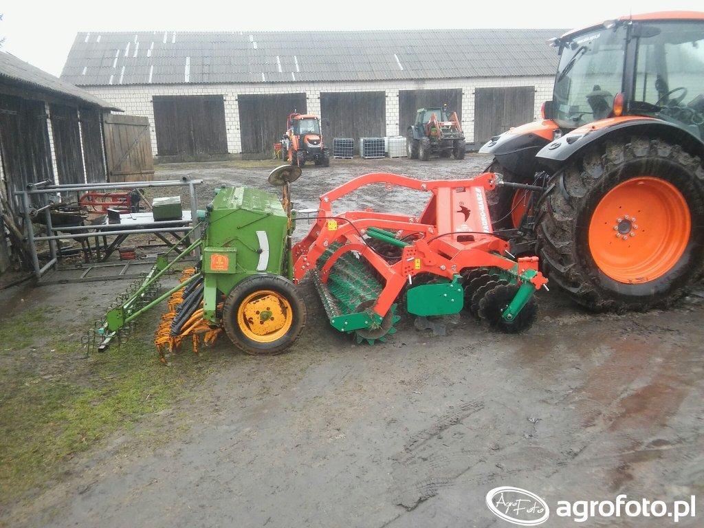 Agro Masz AT30 i Amazone D7 Super S