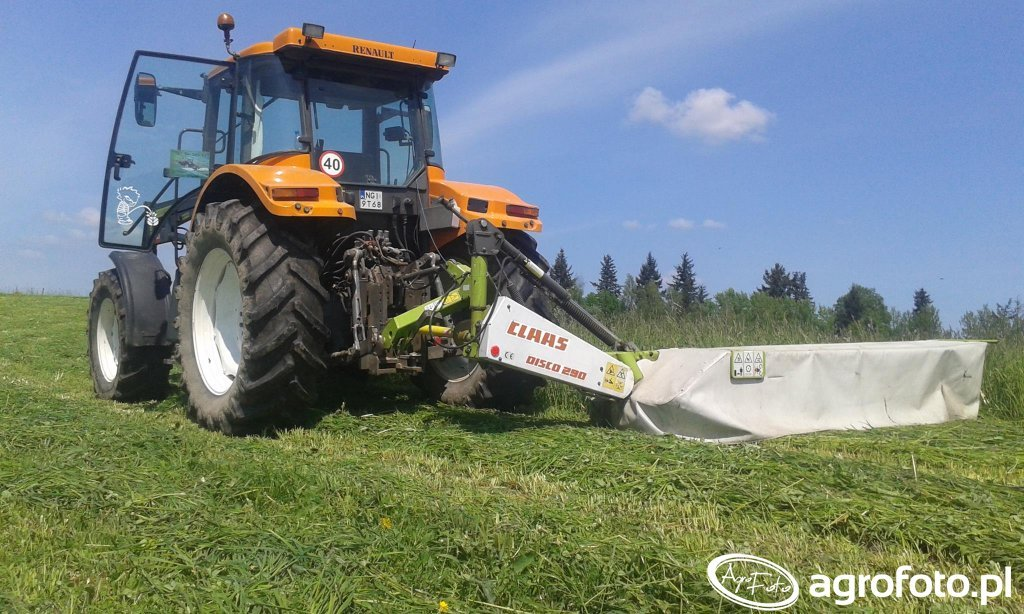 Renault Ares 630RX   Claas Disco 290