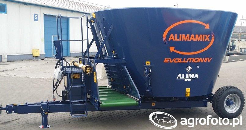 Alimamix EVOLUTION 8 V - z osią jezdną przesunięta na tył maszyny