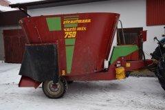 Wóz paszowy Strautmann verti-mix 750