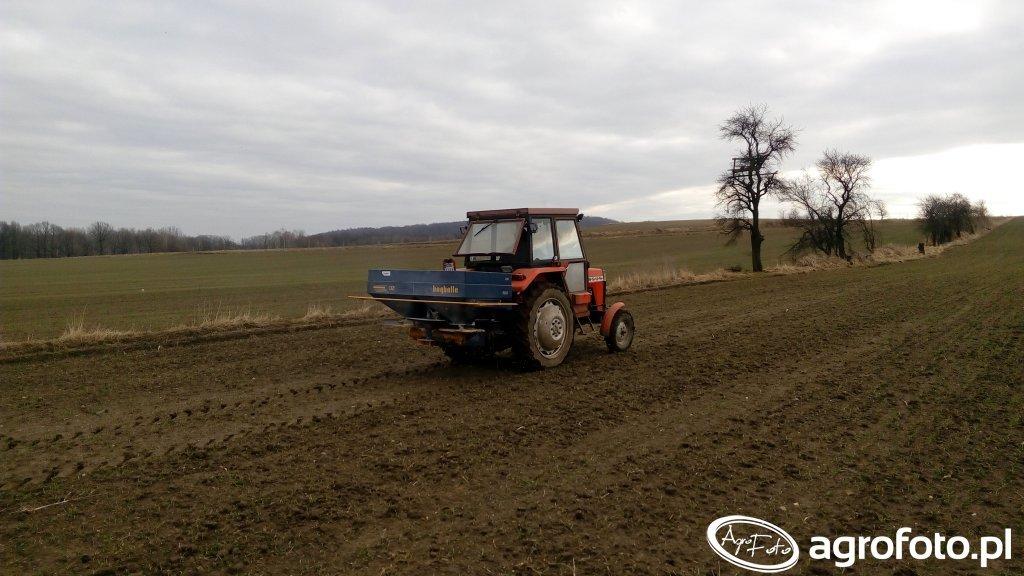 Bogballe DZ 750 + Ursus 3512