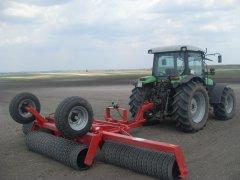 Expom Tytan 500/5,3 m  i Deutz-Fahr Agrofarm 430