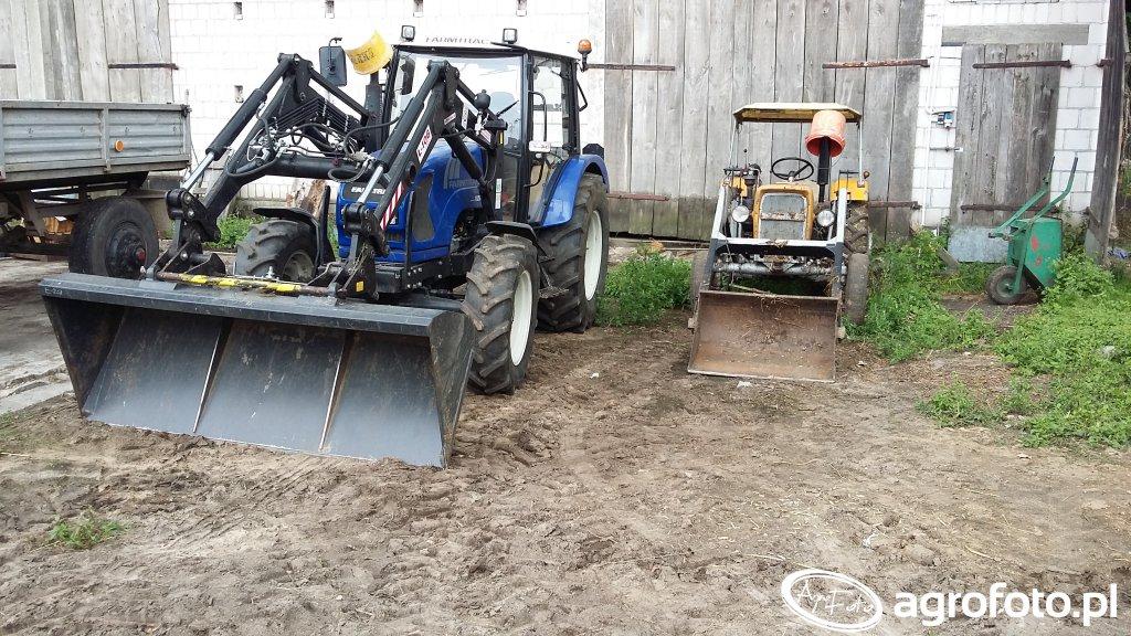 Farmtrac+Ł106  URSUS + TUR2