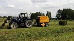 Farmtrac 80 4WD & Warfama z-543