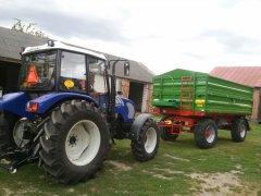 Pronar t672/2 & Farmtrac dtn 675