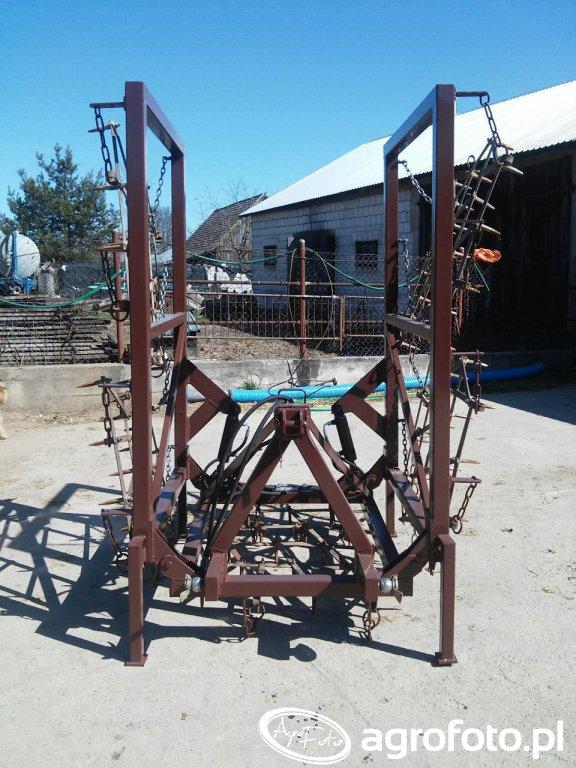 Brony składane hydraulicznie