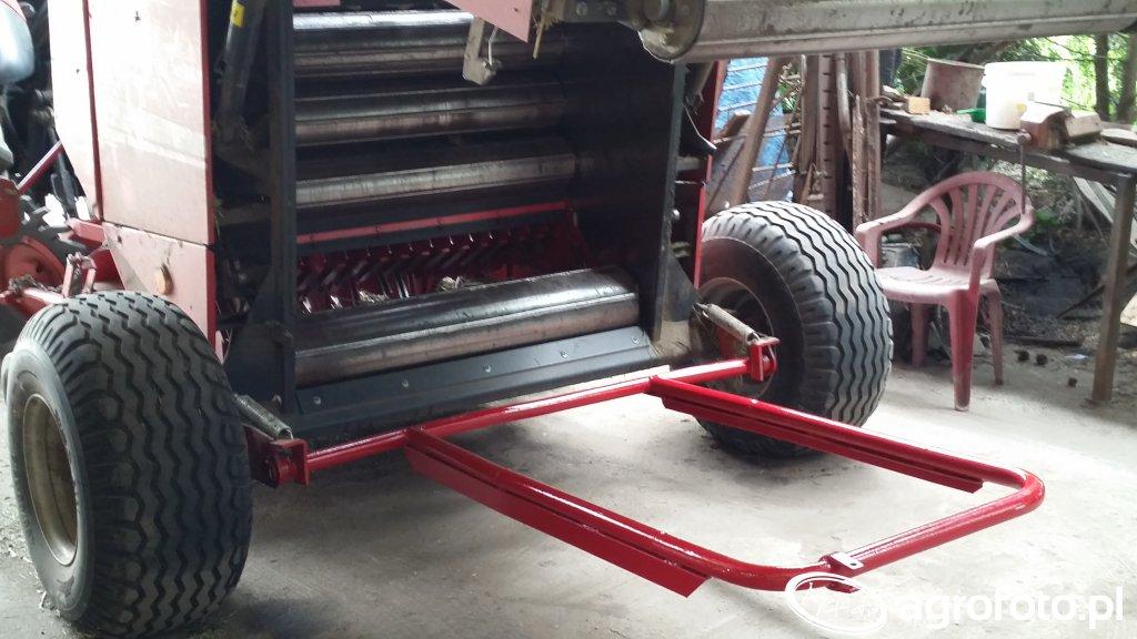 Dłuższa i wzmocniona rampa Unia famarol DF120 1.5D