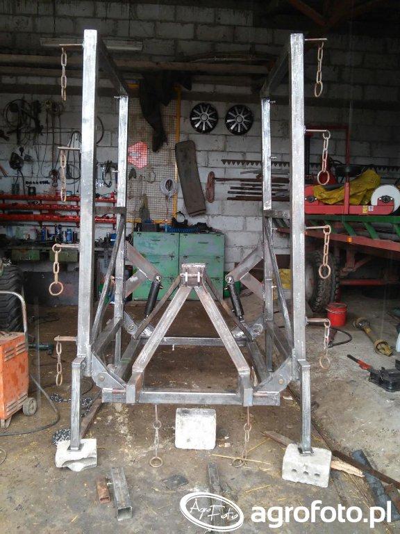 Hydraulicznie składane brony