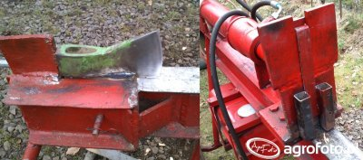 Inne zastosowanie łuparki hydraulicznej