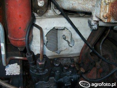 Ogrzewanie w T25A - łapacz powietrza