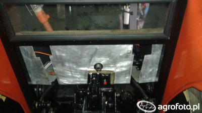 Ursus C-360 - tylna zabudowa