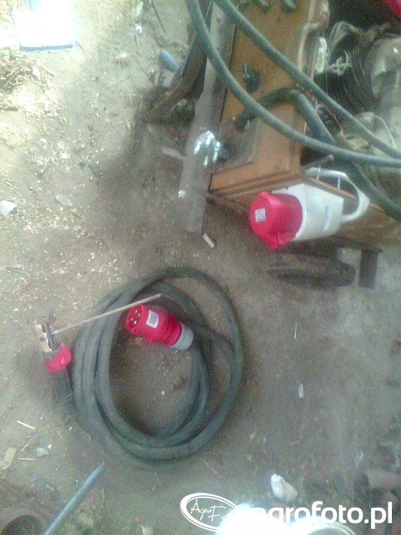 Odłączany przewód spawalniczy