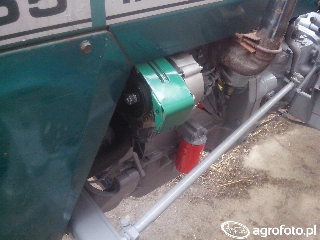 Przeniesiony alternator Mf 255