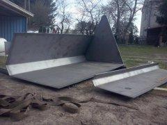 Budowa łyżki do ładowarki