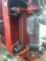 Dodatkowa chłodnica oleju w MTZ Turbo