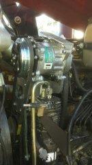 Mocowanie sprężarki klimatyzacji